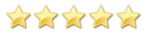 cinq étoiles