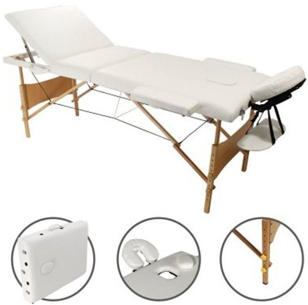 table de massage Linxor 3 zones pliable