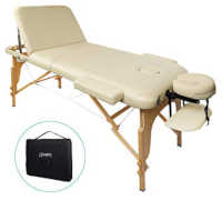table de massage pliante en bois reiki